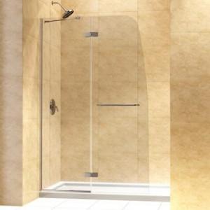 Frameless-Hinged-Shower-Door