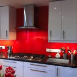 Red Glass Splashbcks by hob